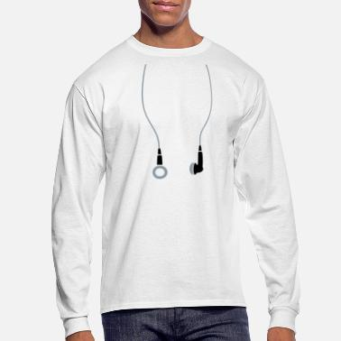 Earphones Earphones - Men's Longsleeve Shirt