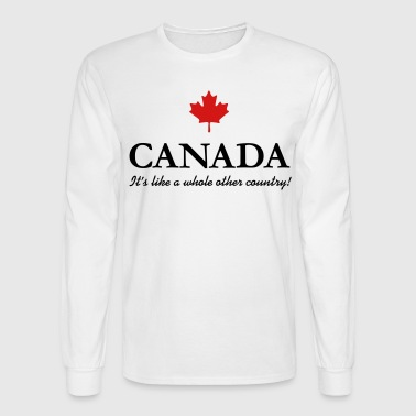 Canada: A country! - Men's Long Sleeve T-Shirt