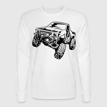 Truck Crawler - Men's Long Sleeve T-Shirt