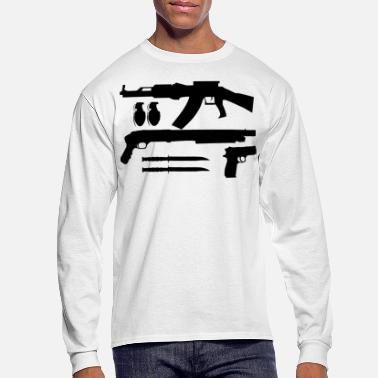 Weapon Weapons - Men's Long Sleeve T-Shirt