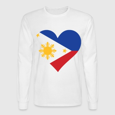 Philippines Heart Philippines (dd)++ - Men's Long Sleeve T-Shirt
