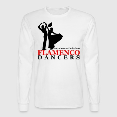 Flamenco Flamenco Dancers - Men's Long Sleeve T-Shirt