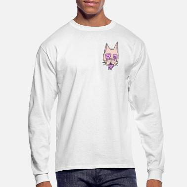 Drug Cat - Men's Long Sleeve T-Shirt
