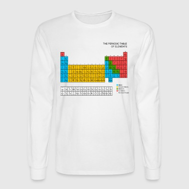 Periodic Table - Men's Long Sleeve T-Shirt