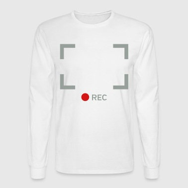 Recording - Men's Long Sleeve T-Shirt
