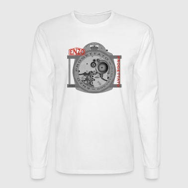 enzo progettato Angelus Movement - Men's Long Sleeve T-Shirt