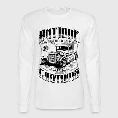 Hot Rod - Antique Customs - Men's Long Sleeve T-Shirt