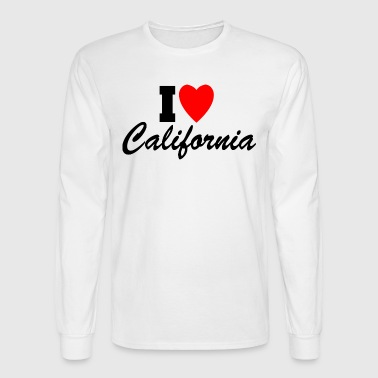 I Love California! - Men's Long Sleeve T-Shirt