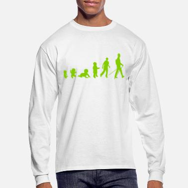 Nordic evolution nordic walking - Men's Long Sleeve T-Shirt