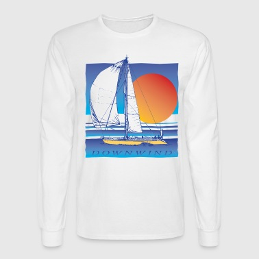 Sailing Downwind - Men's Long Sleeve T-Shirt