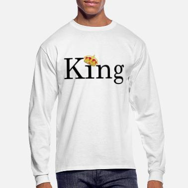 King | Yes you are - Men's Long Sleeve T-Shirt