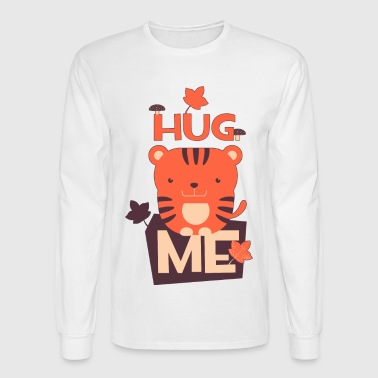 HUG ME little cat funny humor humour kitten t-shir - Men's Long Sleeve T-Shirt