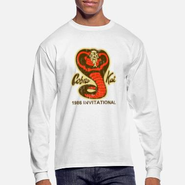 Cobra Cobra Kai T-Shirt  - Men's Long Sleeve T-Shirt