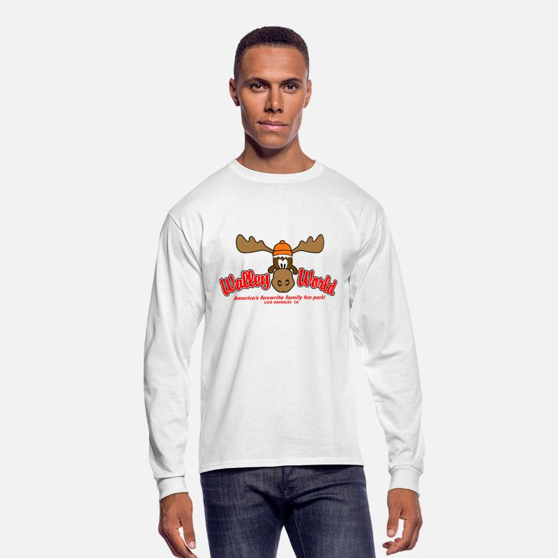 Humor Long sleeve shirts - Walley World Vacation - Men's Longsleeve Shirt white
