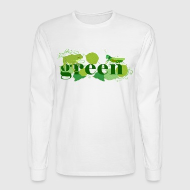 Green - Men's Long Sleeve T-Shirt