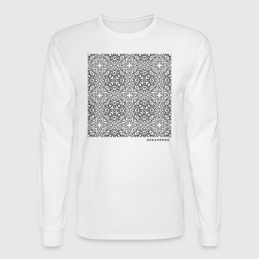 pattern_full_blk - Men's Long Sleeve T-Shirt