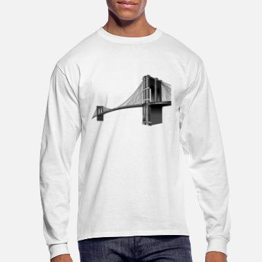 Brooklyn Bridge The Brooklyn Bridge - Men's Long Sleeve T-Shirt