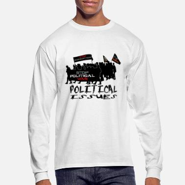 Political Issues poltical issues - Men's Long Sleeve T-Shirt