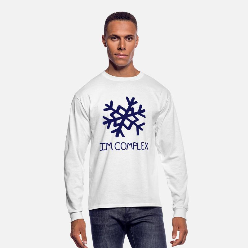 Complex Long sleeve shirts - Complex - Men's Longsleeve Shirt white