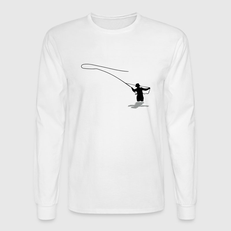 Fly Fishing - Men's Long Sleeve T-Shirt