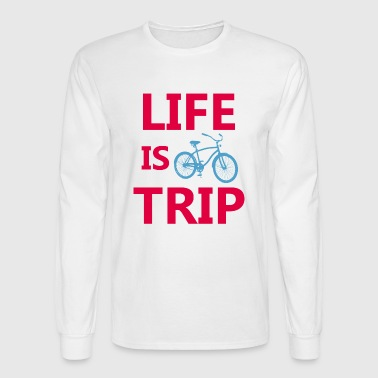Life is a trip - Men's Long Sleeve T-Shirt