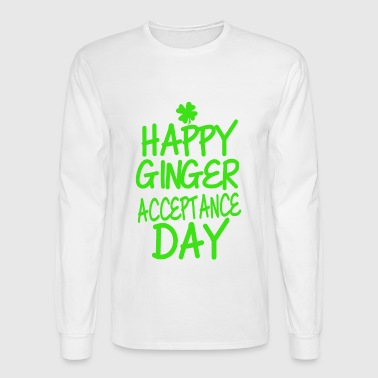 Ginger Acceptance Day - Men's Long Sleeve T-Shirt