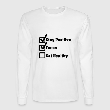 Checklist - Men's Long Sleeve T-Shirt