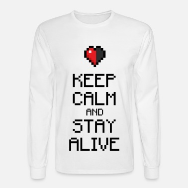 Keep calm stay alive - Men's Long Sleeve T-Shirt