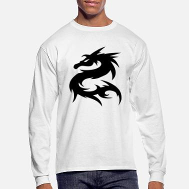 Nepal Dragon Nepal T-shirt - Men's Long Sleeve T-Shirt