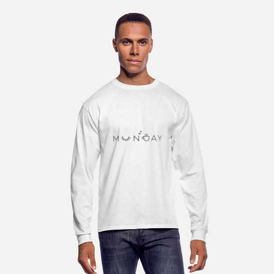 Monday Long-Sleeve Shirts - monday - Men's Longsleeve Shirt white