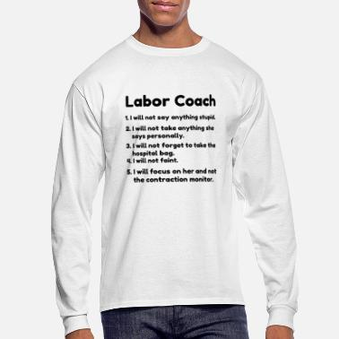 Labor labor coach - Men's Long Sleeve T-Shirt