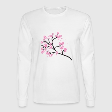 Cherry Blossom Blossoms Tree Japanese Gift Present - Men's Long Sleeve T-Shirt