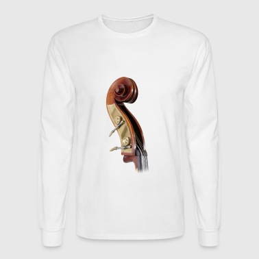 double bass scroll - Men's Long Sleeve T-Shirt
