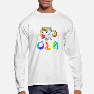 Ola Ola Unicorn - Men's Longsleeve Shirt