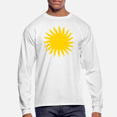 Sun Sunny Sun Cool Shape - Men's Long Sleeve T-Shirt