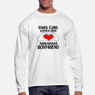 Arkansas arkansas boyfriend - Men's Longsleeve Shirt
