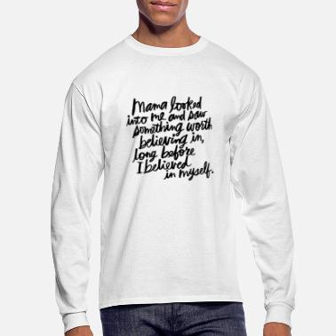 Mother's Day Picture - Men's Longsleeve Shirt