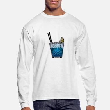 Cocktail Party Cocktail Shirt - Men's Long Sleeve T-Shirt
