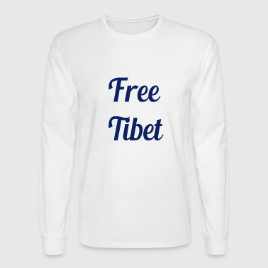 Free Tibet Free Tibet - Men's Long Sleeve T-Shirt