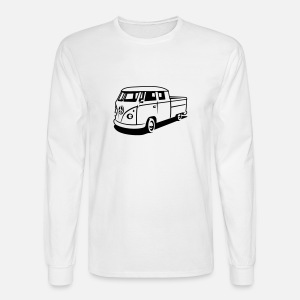 t1 bus pickup men s longsleeve shirt spreadshirt VW Bus Birthday Party men s longsleeve shirt