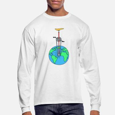 Eco The Eco Wheel - Men's Long Sleeve T-Shirt