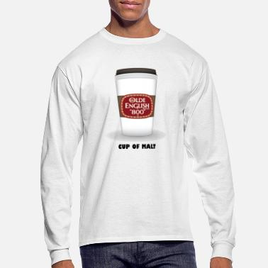 Malt Cup of Malt - Men's Long Sleeve T-Shirt