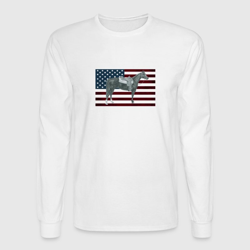 American Quarter Horse - Men's Long Sleeve T-Shirt