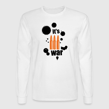 it s war ammunition cartridge - Men's Long Sleeve T-Shirt