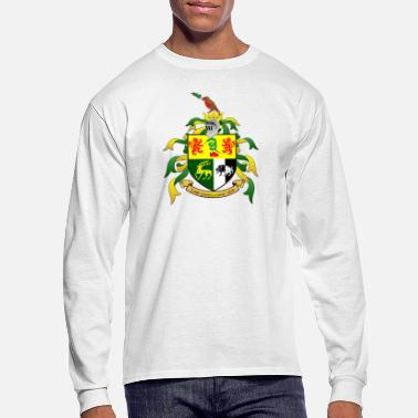 Family Crest Sullivan Family Shield Crest - Men's Long Sleeve T-Shirt