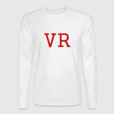 VR by MYBLOGSHIRT.COM - Men's Long Sleeve T-Shirt