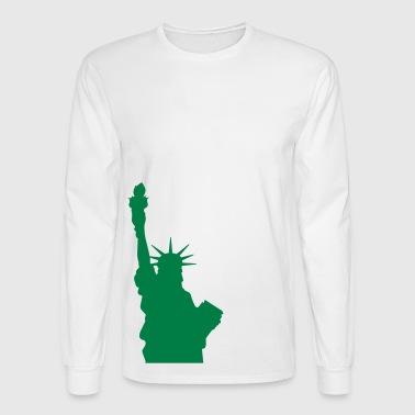 Statue of Liberty, Lady Liberty - Men's Long Sleeve T-Shirt
