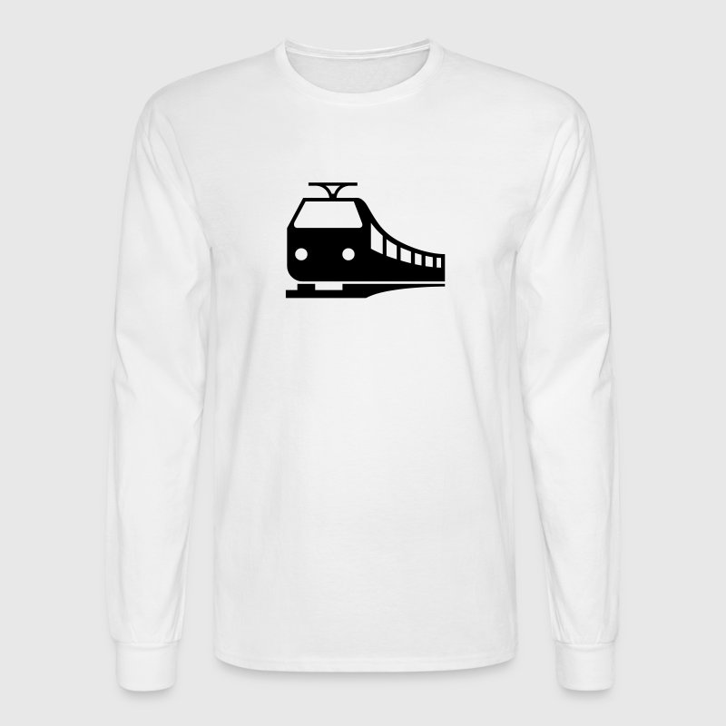 Train - VECTOR - Men's Long Sleeve T-Shirt