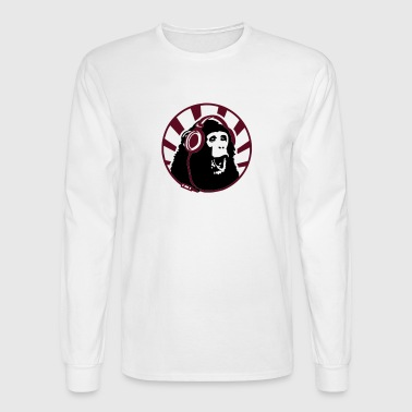 ape headphones - Men's Long Sleeve T-Shirt