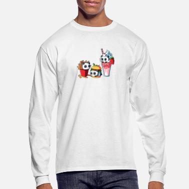 Meal COMBO MEAL - Men's Long Sleeve T-Shirt